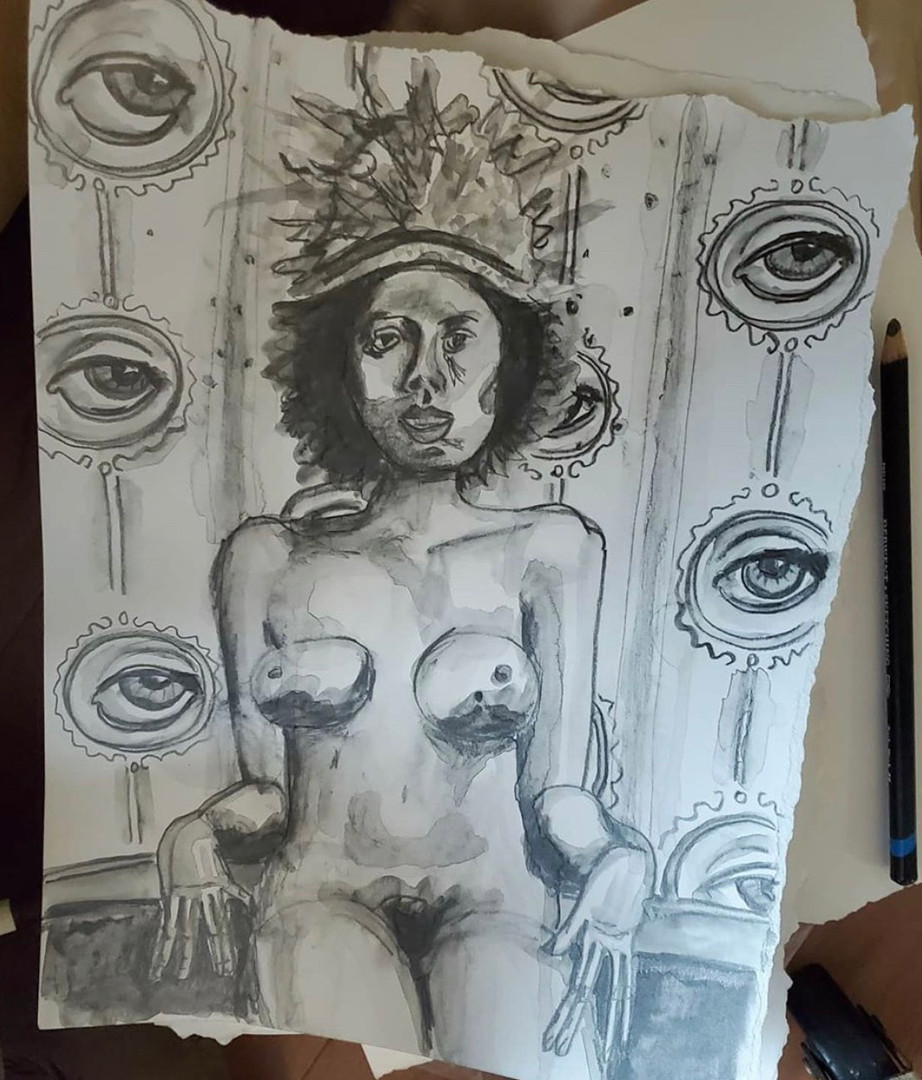 Sketch for The Eyes Have It