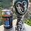 Thumbnail: Entangled Lovers Wine Goblet