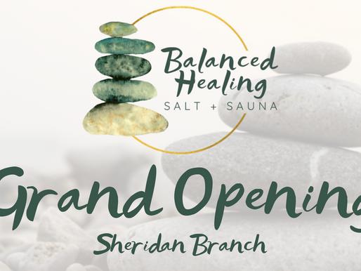 Balanced Healing Grand Opening in Sheridan!