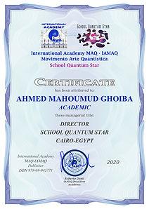 Certificati Direttori School Quantum Sta