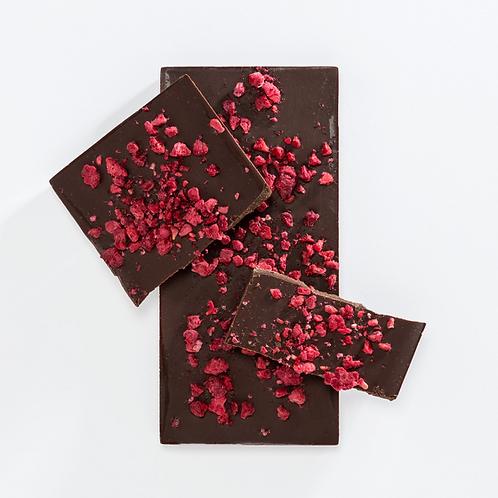 Dark Chocolate Bar - Raspberry
