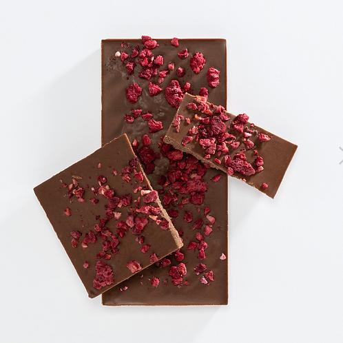 Milk Chocolate Bar - Raspberry
