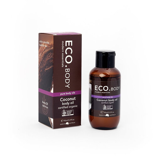 Certified Organic Coconut Body Oil