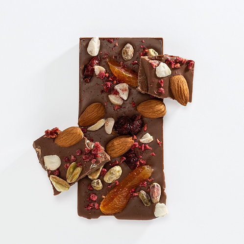 Milk Chocolate Bar - Fruit & Nut