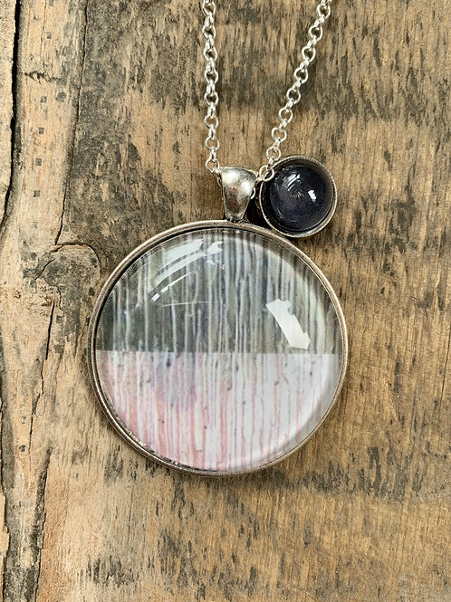 Split Wash Pendant Necklace
