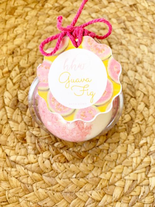 Guava Fig Bath Bomb