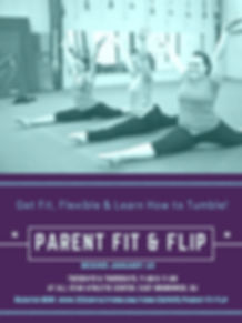 Parent Fit & Flip: Adult tumbling training classes