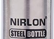 Nirlon Stainless Steel Water Bottle, 650ml, Silver