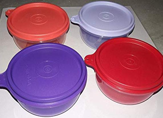 Tupperware Tropical Plastic Container Set, 230ml, Set of 4, Multicolour