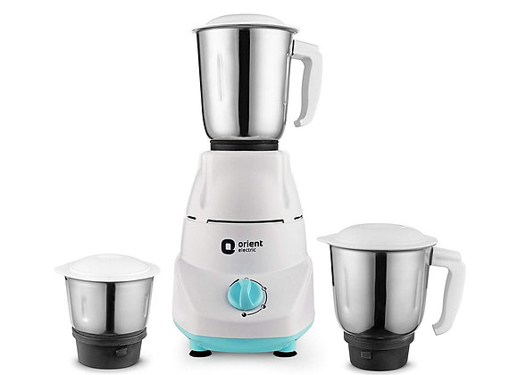 Orient Electric Kitchen Kraft MGKK50B3 500-Watt Mixer Grinder with 3 Jars (White