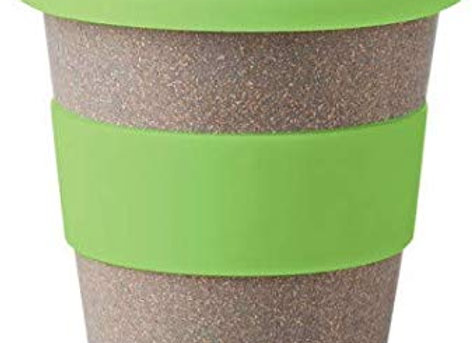 MojoLife Eco-Friendly, Spill-Proof, Made with Wheat Fiber Sipper Mugs