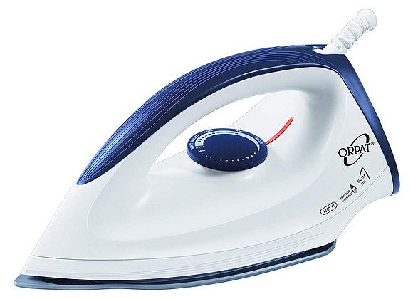 Orpat OEI 187 1200-Watt Dry Iron (White and Blue) Iron
