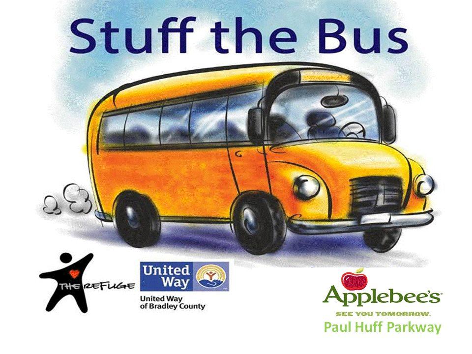 Stuff The Bus at Applebee's
