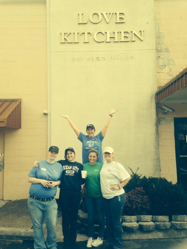 Volunteering @ The Love Kitchen