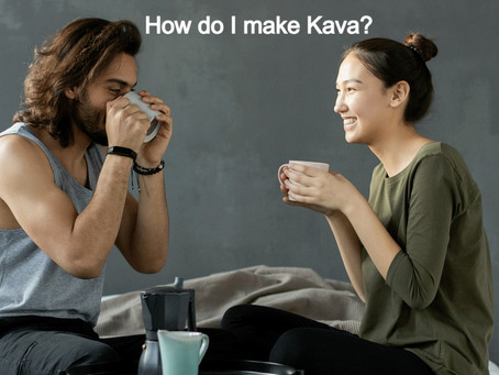 How do I make Kava at home?