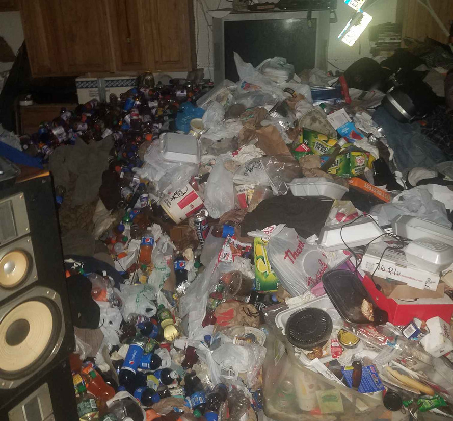 hoarder clean out