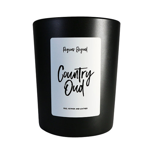 Country Oud Candle