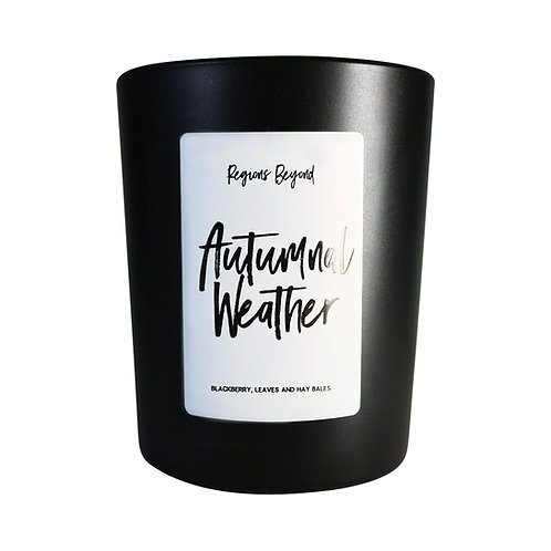 Autumnal Weather Candle