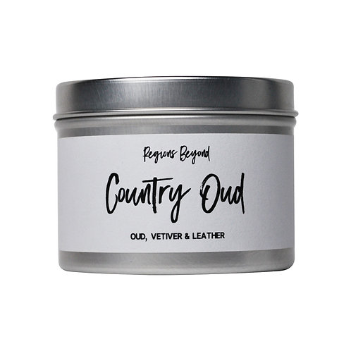 Country Oud Mini Candle