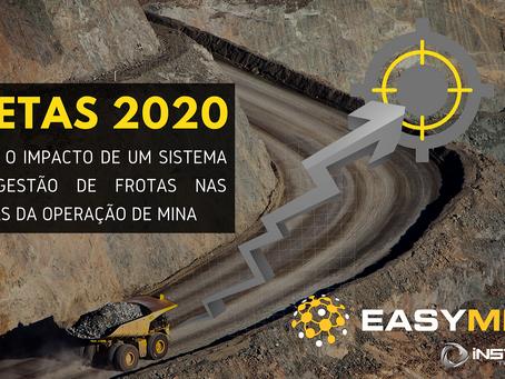 Metas da Mineração para 2020 e os Sistemas de Gestão de Frota