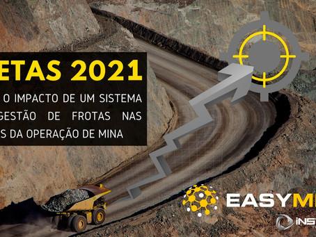 Metas da Mineração para 2021 e os Sistemas de Gestão de Frota