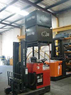 Load Test Reach Truck CIMG0145.JPG