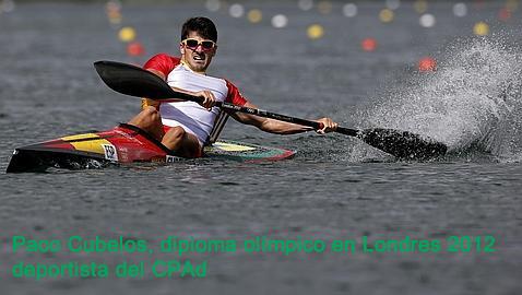 Paco Cubelos, deportista CPAd
