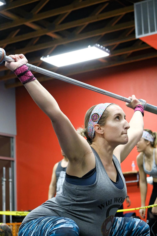 Elise Overhead Squats CrossFit Open 18.4