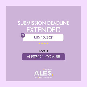 Submission deadline extended: July 10, 2021