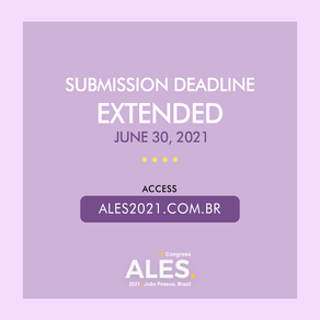 Submission deadline extended: June 30, 2021