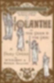 haods iolanthe script front cover