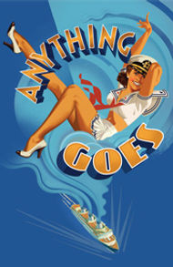haods past shows anything goes script front cover
