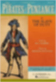 haods pirates of penzance script front cover