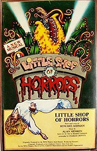 haods past shows little shop of horrors script front cover