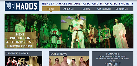 alan lineham web design isle of man haods desktop site screenshot