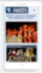alan lineham web design isle of man haods mobile site screenshot