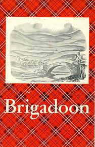 haods brigadoon script front cover