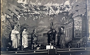 haods mikado 1922 cast on stage photo 3