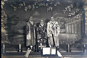 haods mikado 1922 principals on stage photo 1