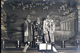haods mikado 1922 principals on stage photo 1