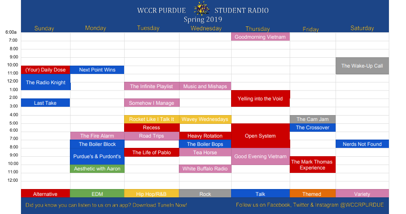 WCCR schedule spring 2019.PNG