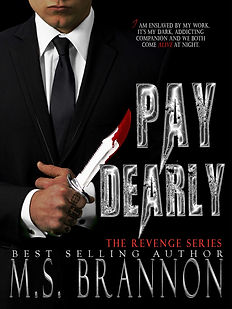 Book cover for M.S. Brannon's Pay Dearly