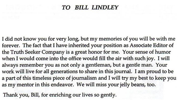 to bill lindley