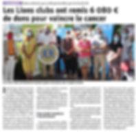 DL DU 290620 REMISE DES CHEQUES TULIPES