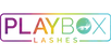 Play Box Lashes logo