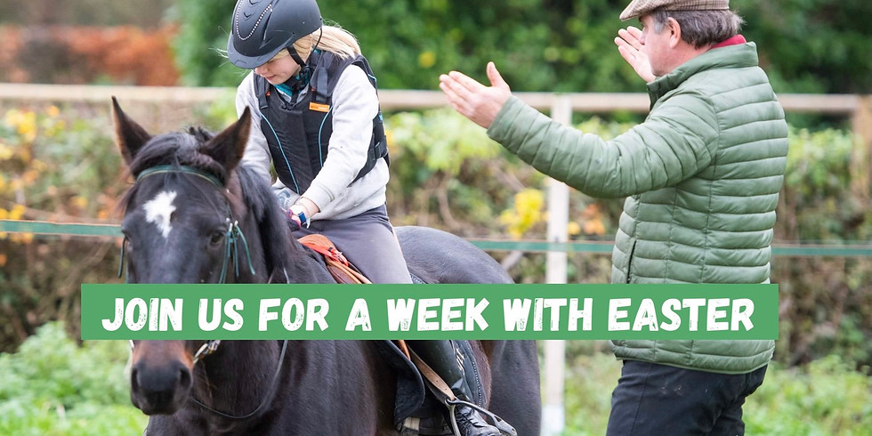 Pre booking Easter equine holiday