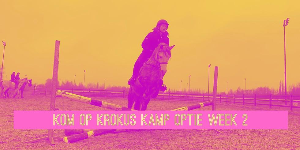 Pre Booking krokus kamp week 2