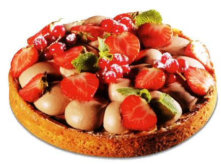 Tarte Jivara Fruits Rouges
