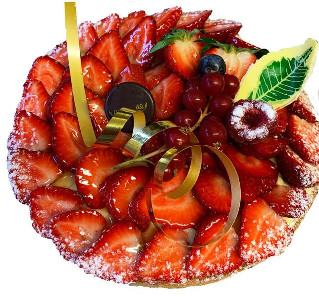 Nos Tartes aux fruits