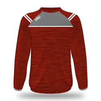 Red Melange - Grey - White trim.jpg